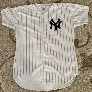 separation shoes 23f37 9d9a0 Russell Athletic Shirts - New York Yankees Jersey pinstripe XL or 48